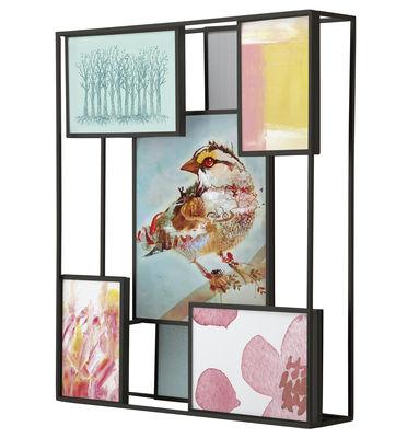 matrix bilderrahmen f r 7 fotos zum hinstellen oder. Black Bedroom Furniture Sets. Home Design Ideas
