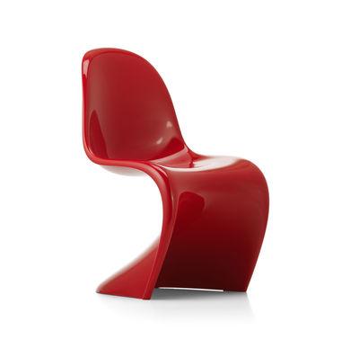 Furniture - Chairs - Panton Chair Classic Chair - / By Verner Panton, 1959 - Rigid polyurethane foam by Vitra - Red - Rigid polyurethane foam