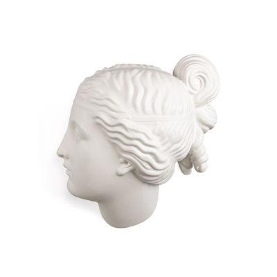 Interni - Oggetti déco - Decorazione Memorabilia Mvsevm - / Testa donna - H 37 cm di Seletti - Testa donna / Bianco - Porcellana
