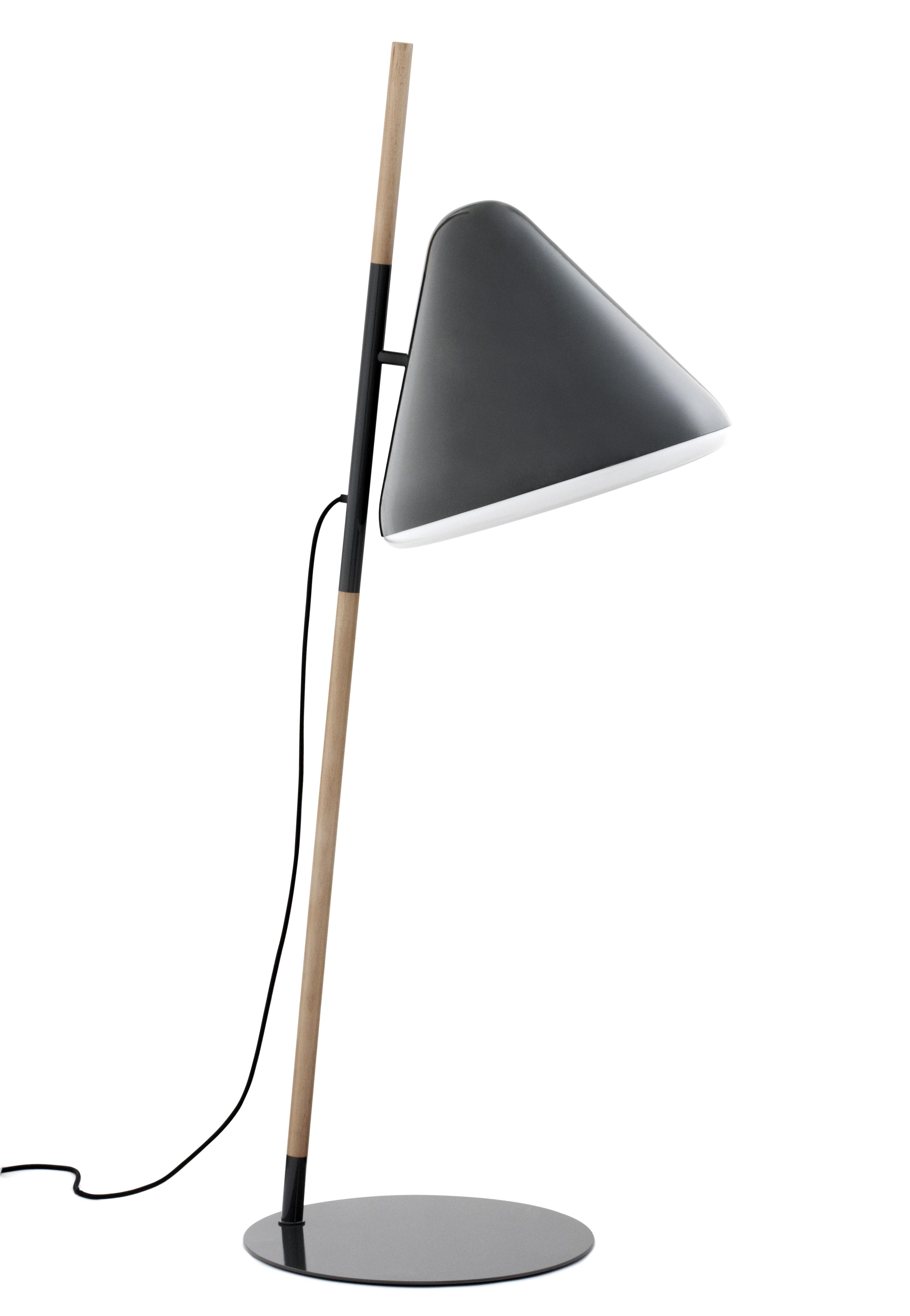Luminaire - Lampadaires - Lampadaire Hello - Normann Copenhagen - Gris - Acier, Hêtre, Plexiglas