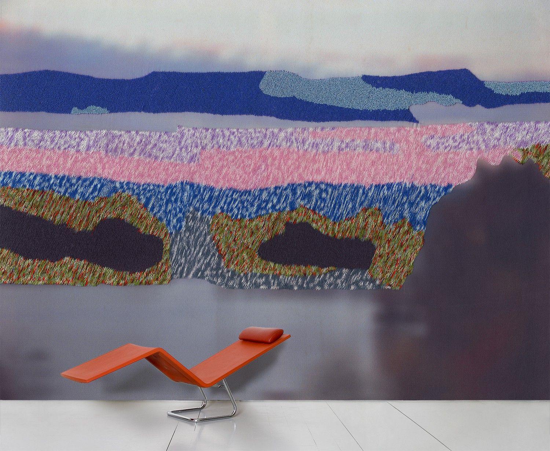 Déco - Stickers, papiers peints & posters - Papier peint panoramique Tranquillité attractive / 8 lés - L 372 x H 300 cm - Domestic - Multicolore - Papier intissé
