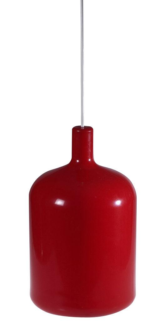 Leuchten - Pendelleuchten - Bulb Pendelleuchte - Bob design - Rot - Polyurhethan