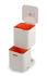 Poubelle de tri Totem Compact 40L / 2 bacs 20L + 1 bac déchets organiques 3L - Joseph Joseph
