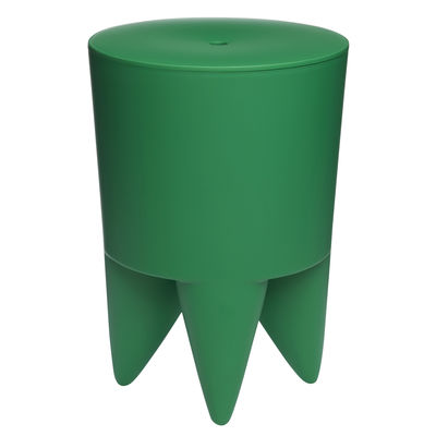 Arredamento - Sgabelli - Sgabello BUBU 1er - / Vano portaoggetti - Plastica di XO - Verde smeraldo - Polipropilene