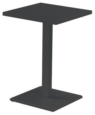 Möbel - Stehtische und Bars - Round Stehtisch - Emu - Eisen (dunkel) - Stahl