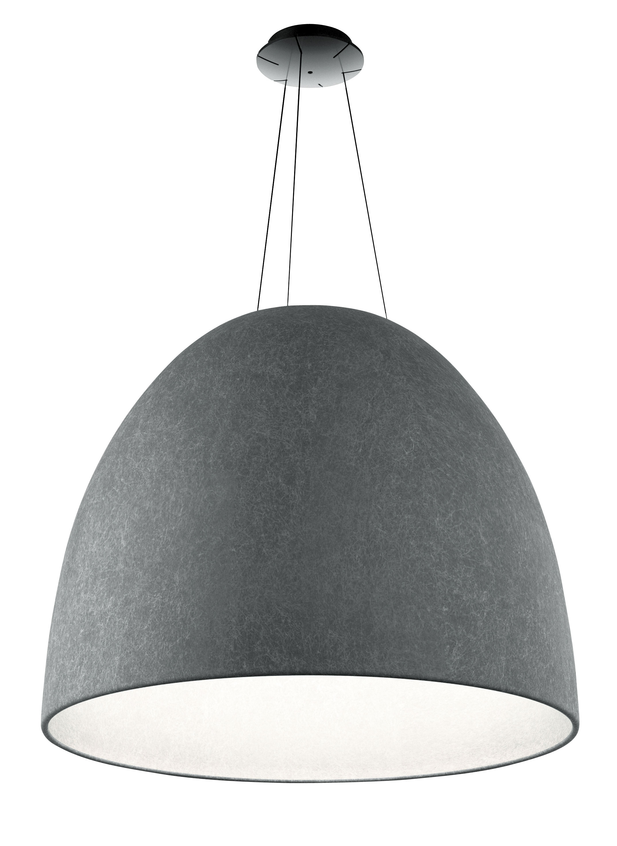 Suspension Ø Nur Led Acoustique Artemide Feutre 91 Cm USqpzMV