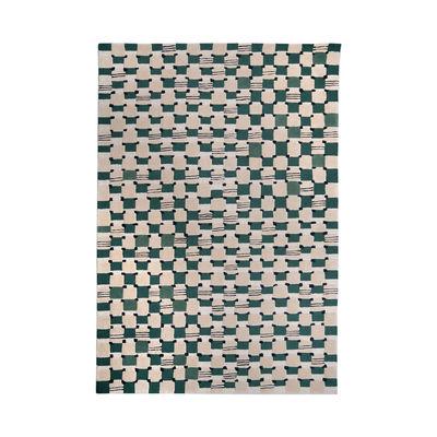Déco - Tapis - Tapis Damier / 200 x 300 cm - Tufté main - Maison Sarah Lavoine - Cactus - Coton, Laine