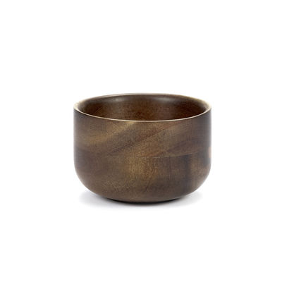 Arts de la table - Tasses et mugs - Tasse à thé Collage / Acacia - Serax - Bois foncé - Acacia massif