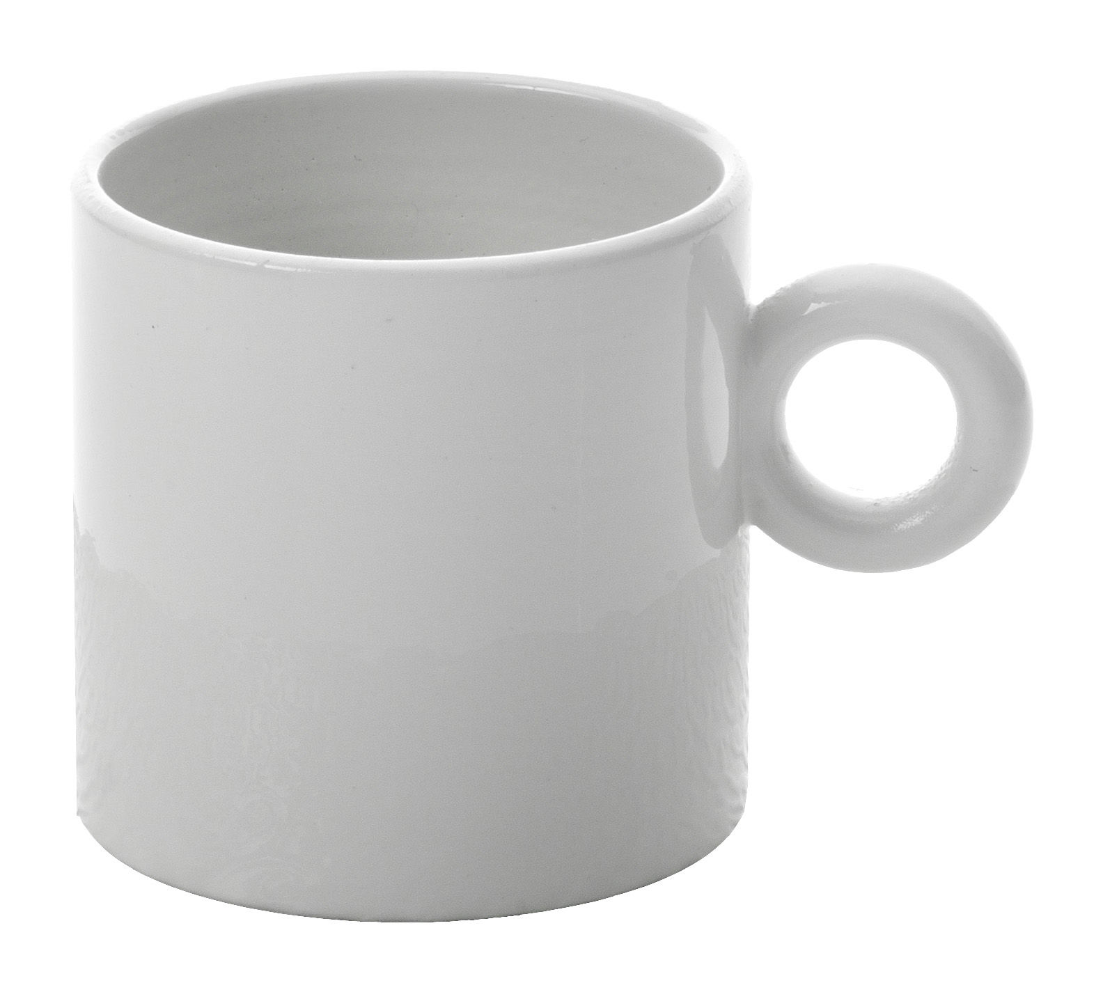 Tavola - Tazze e Boccali - Tazzina da caffè Dressed di Alessi - Tazzina per moka - Bianco - Porcellana