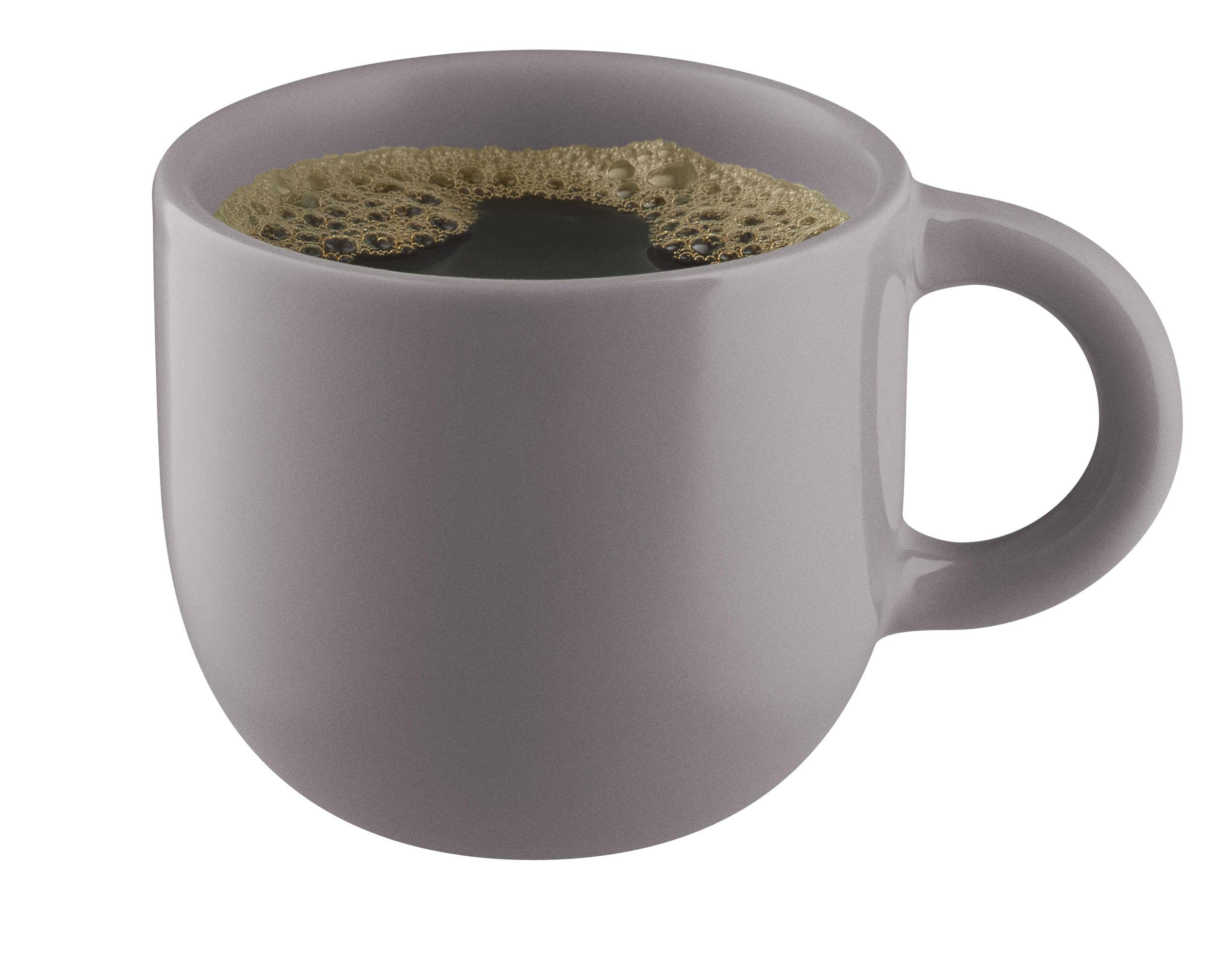 Tableware - Coffee Mugs & Tea Cups - Globe Teacup - Stoneware by Eva Solo - Nordic Grey - Sandstone