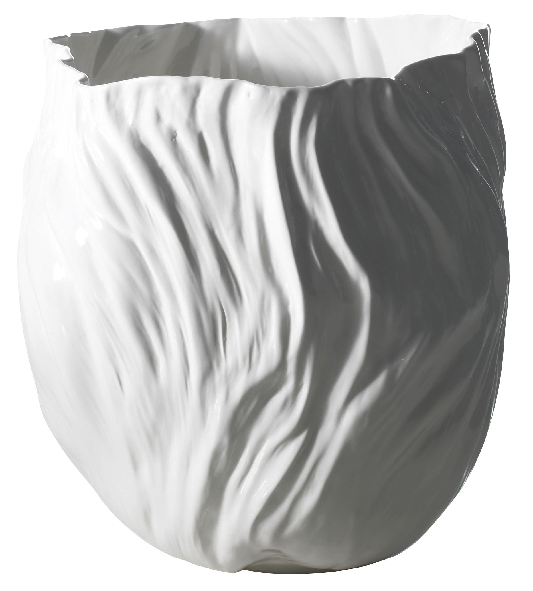 Decoration - Vases - Adelaïde I Vase by Driade Kosmo - White - Bone china