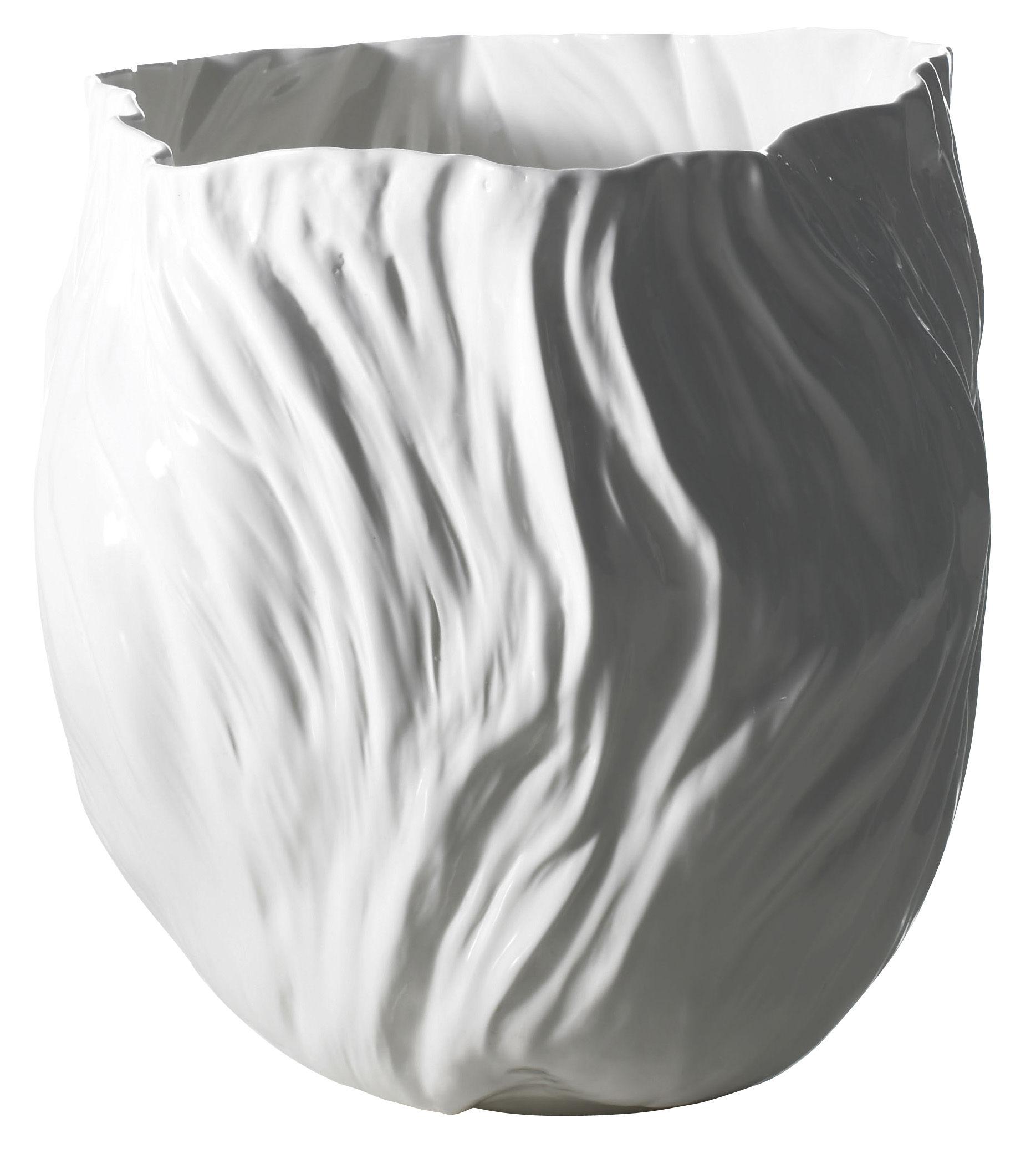 Interni - Vasi - Vaso Adelaïde I di Driade Kosmo - Bianco - Porcellana Bone China