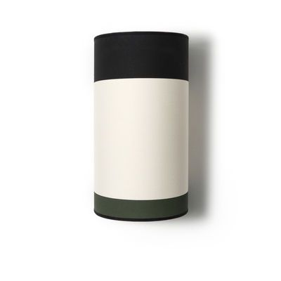 Lighting - Wall Lights - Eclipse Wall light - / Cotton by Maison Sarah Lavoine - Forest Green, Beige & Black - Cotton