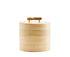 Boîte Bamboo / Ø 12 x H 10 cm - House Doctor