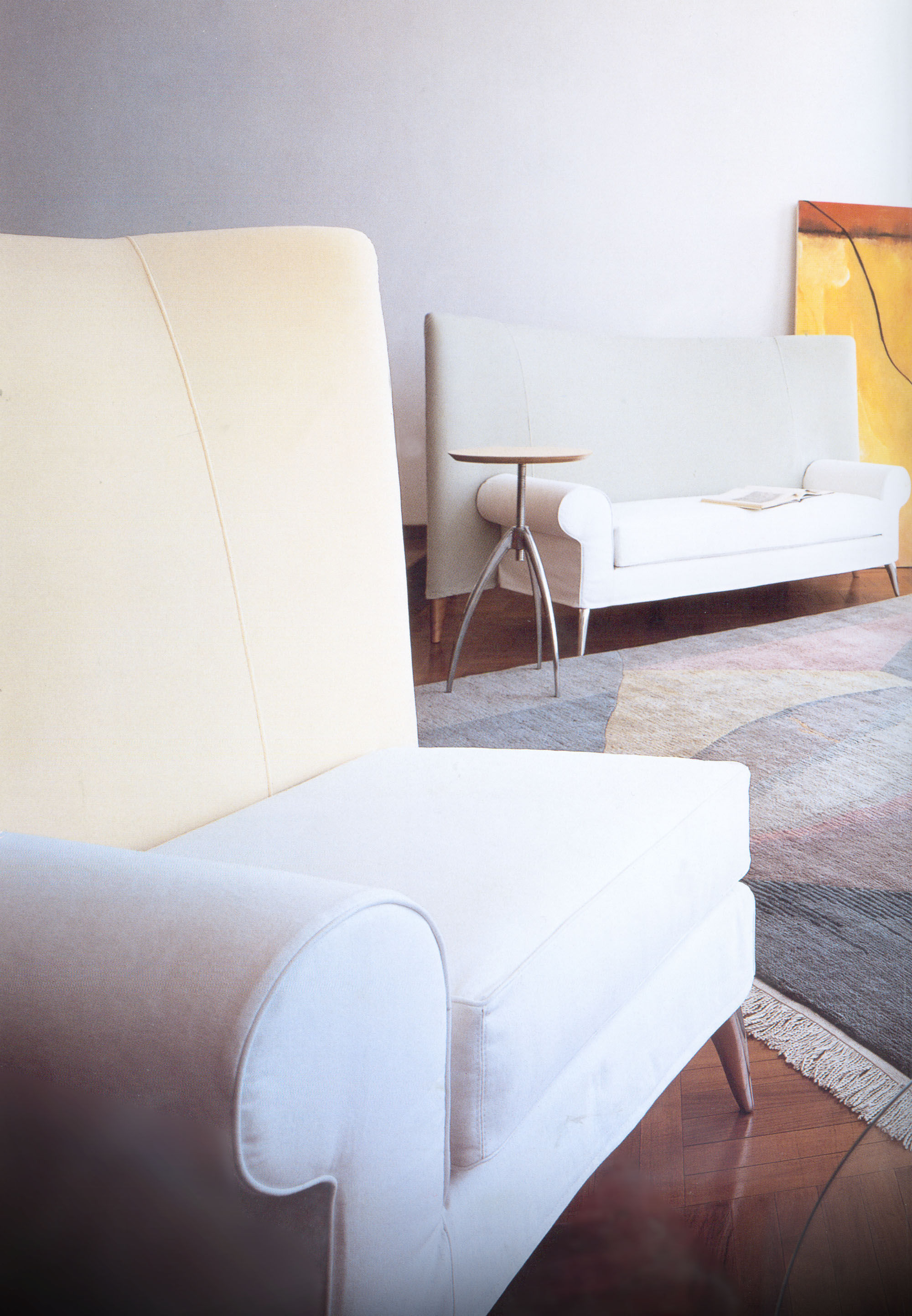 canap droit royalton l 207 cm beige driade. Black Bedroom Furniture Sets. Home Design Ideas