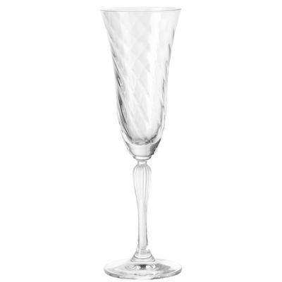 Tavola - Bicchieri  - Flûte da champagne Volterra di Leonardo - Trasparente - Champagne - Vetro
