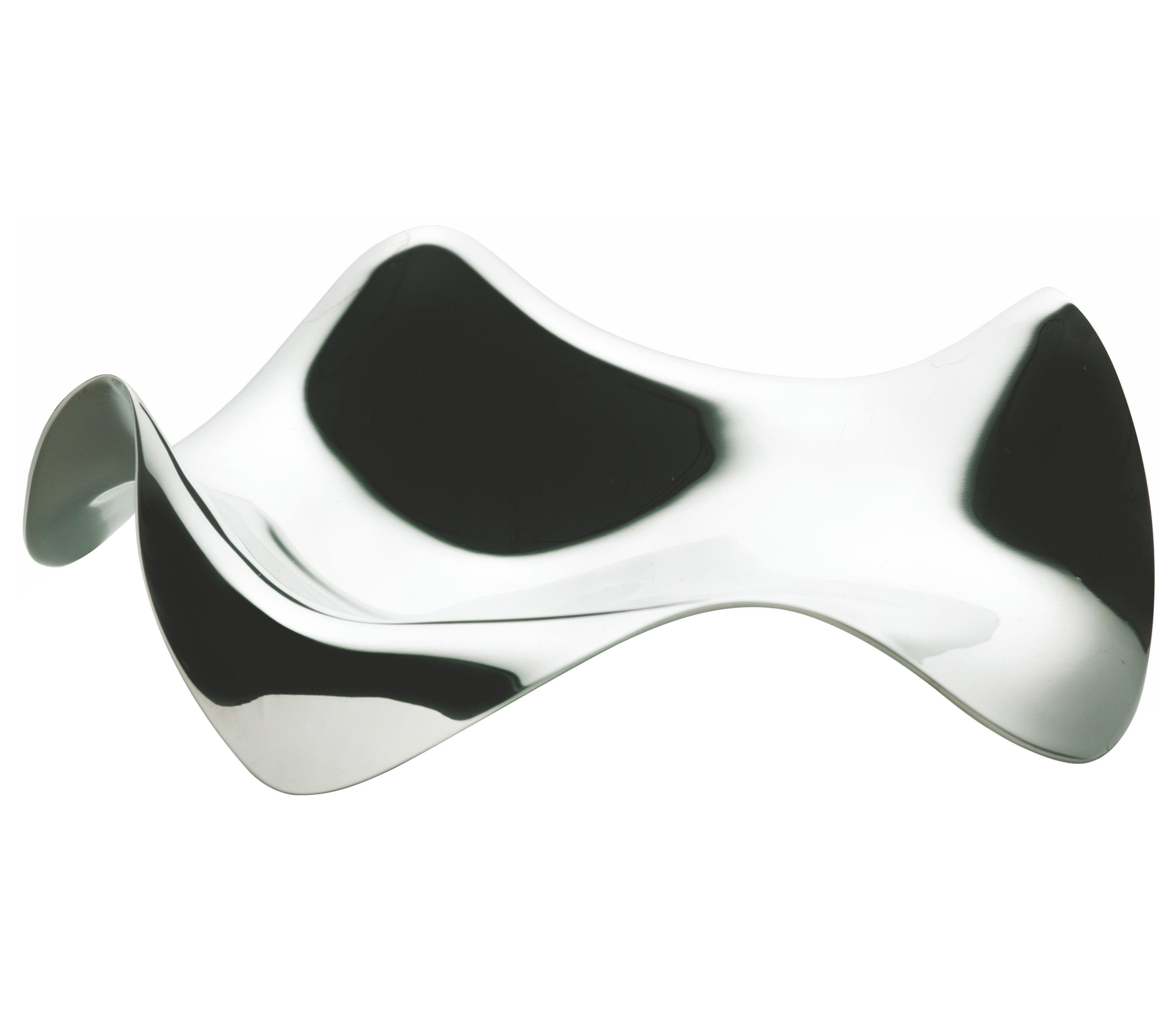 Küche - Einfach praktisch - Blip Löffelablage - Alessi - Edelstahl glänzend - polierter rostfreier Stahl