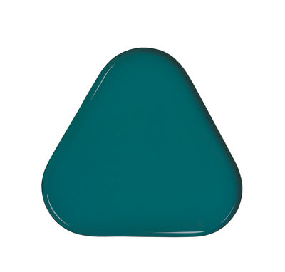 Tavola - Vassoi  - Piano/vassoio Metal Triangle - / 25 x 23 cm di & klevering - Triangolo / Verde - Metallo