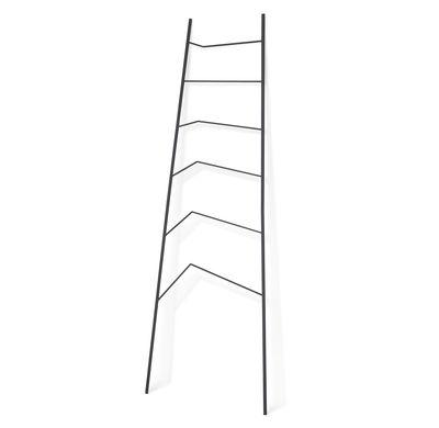 Mobilier - Compléments d'ameublement - Porte-serviettes Nook / L 68 x H 192 cm - Northern  - Anthracite - Acier laqué