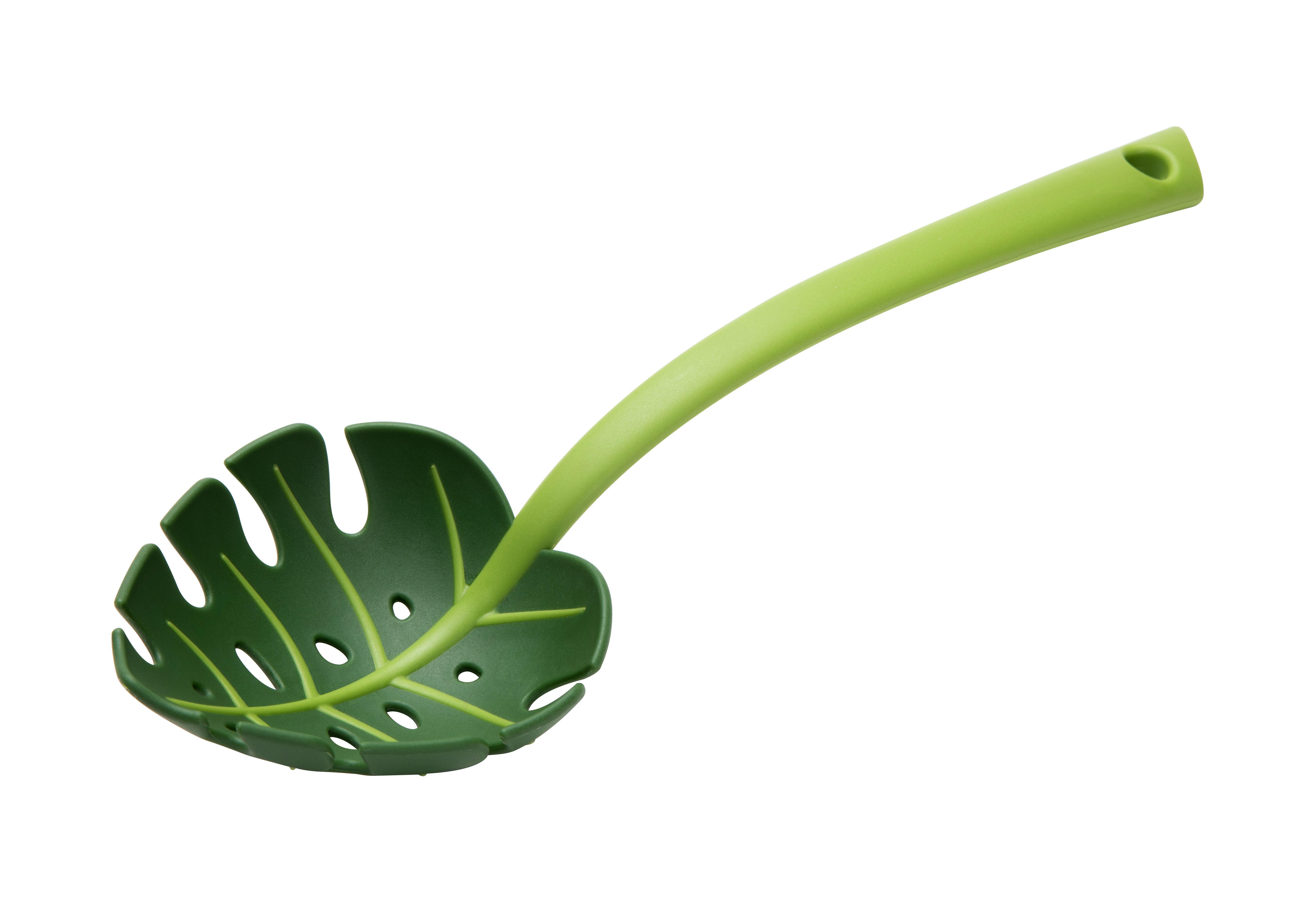 Küche - Küchenutensilien - Jungle spoon Schaumlöffel - Pa Design - Grün - Nylon