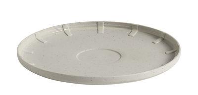 Soucoupe Paper Porcelain / Pour tasse à café - En porcelaine - Hay gris clair en céramique