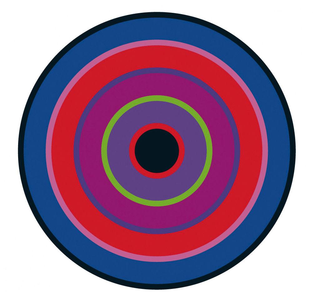 Déco - Stickers, papiers peints & posters - Sticker Target 2 - Domestic - Violet-rouge - Vinyle