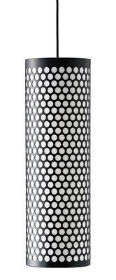 Suspension Pedrera ANA Ø 20 x H 63 cm - Gubi noir en métal