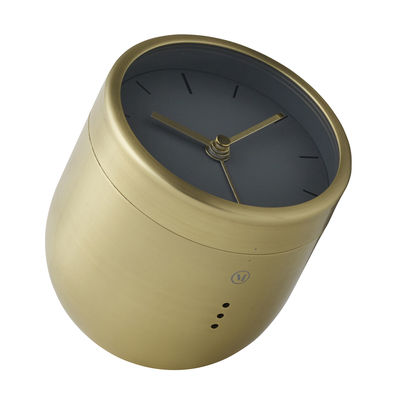 Accessories - Alarm Clocks & Travel Radios - Norm Tumbler Alarm clock - Brass by Menu - Brushed brass - Solid brass