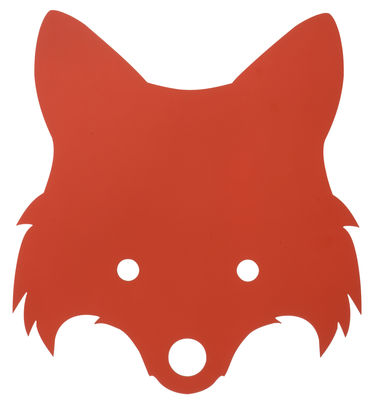 Applique Fox - Ferm Living rouge orangé en bois