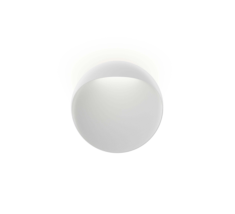Illuminazione - Lampade da parete - Applique Flindt - / LED - Ø 20 cm di Louis Poulsen - Bianco - Acrylique moulé par injection, Ghisa di alluminio