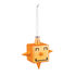 Cubik Star Bauble - / Hand-painted blown glass by Alessi