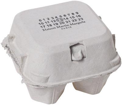 Déco - Objets déco et cadres-photos - Boîte Fortune Egg - Maison Martin Margiela - Blanc - Carton, Coquille d'œuf
