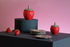 Boîte Strawberry Small / Ø 10.5 x H 15 cm - Céramique - & klevering