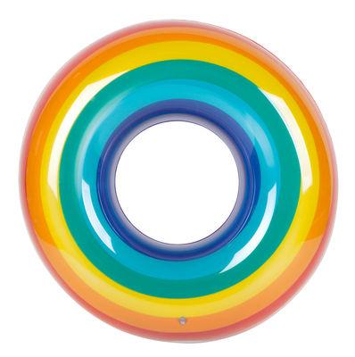 Déco - Pour les enfants - Bouée / Arc-en-ciel - Ø 110 cm - Sunnylife - Arc-en-ciel - PVC haute résistance