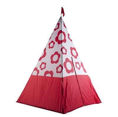 Mobilier - Mobilier Kids - Cabane Typy / tente enfant - Skitsch - Rouge - Aluminium, Tissu polyester