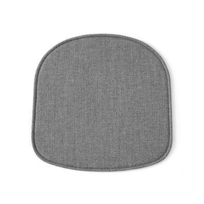 Mobilier - Chaises, fauteuils de salle à manger - Coussin d'assise / Tissu - Pour chaise Rely HW6 - &tradition - Gris - Mousse, Tissu
