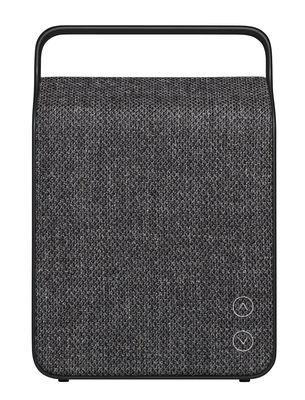 Accessori - Altoparlante & suono - Altoparlante  Bluetooth Oslo / Senza fili - Tessuto - Vifa - Grigio Antracite - Alluminio, Tessuto Kvadrat