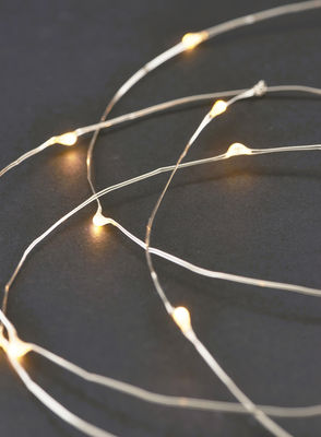 Guirlande lumineuse String Lights LED / 10 mètres - House Doctor métal en métal