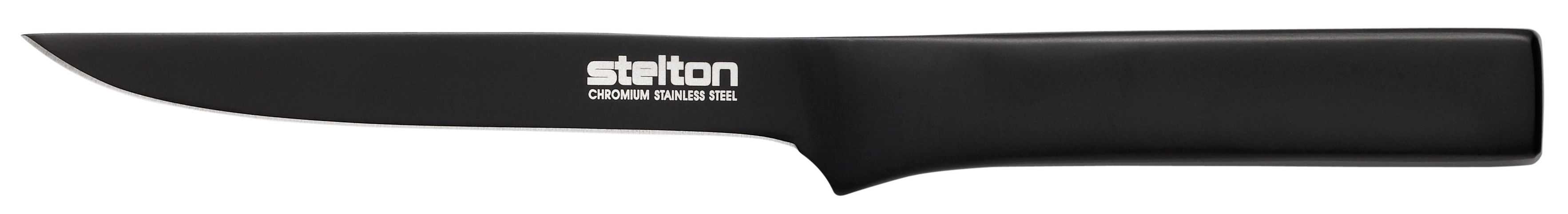 Kitchenware - Kitchen Knives - Pure Black Kitchen knife - To bone by Stelton - Black - Stainless steel