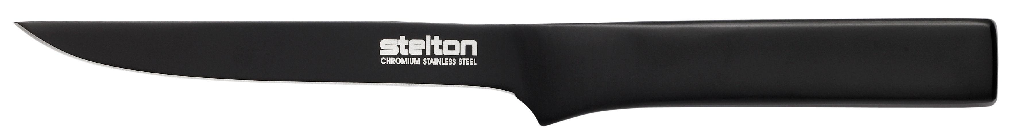 Küche - Küchenmesser - Pure Black Kochmesser / Ausbeinmesser - Stelton - Schwarz - rostfreier Stahl