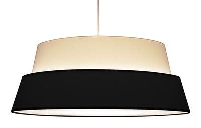 Photo Lampenschirm für Stehlampe Nuala - Objekto - Weiß,Schwarz