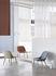 Fiber Lounge Lounge Sessel / gepolstert - Lederbezug & Stuhlbeine aus Holz - Muuto