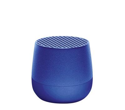 Accessoires - Enceintes audio & son - Mini enceinte Bluetooth Mino 3W / Sans fil - Recharge USB - Lexon - Bleu foncé - ABS, Aluminium