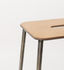 Adam Cuir Stool - / H 50 cm by Frama