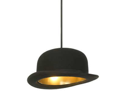 suspension chapeau melon jeeves innermost - noir | made in design