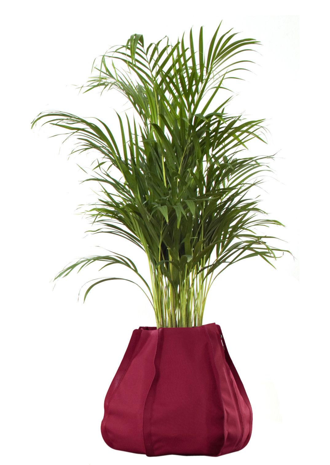Outdoor - Vasi e Piante - Vaso per fiori Urban Garden Sack - sacco da 45 litri di Authentics - L - Bordeaux - Tessuto poliestere