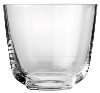 Verre W/W pour vin & eau - Menu transparent en verre