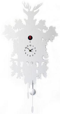 Cucù Wall clock - H 81 cm White by Diamantini & Domeniconi   Made ...
