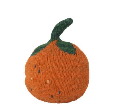 Furniture - Kids Furniture - Fruiticana - Orange Weeble - / Tricoté by Ferm Living - Orange - Organic cotton, Polyester