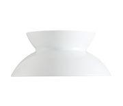 Abat-jour interchangeable / Pour suspension Doo-Wop - Louis Poulsen blanc en métal